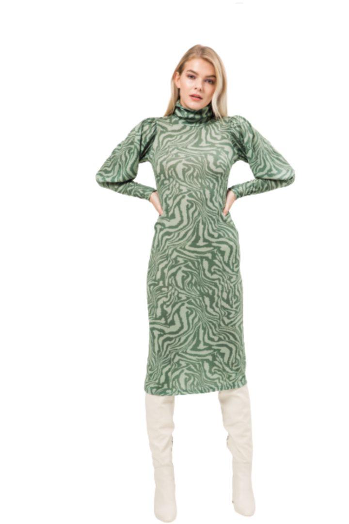 Moutaki στενό μίντι φόρεμα πλεκτό