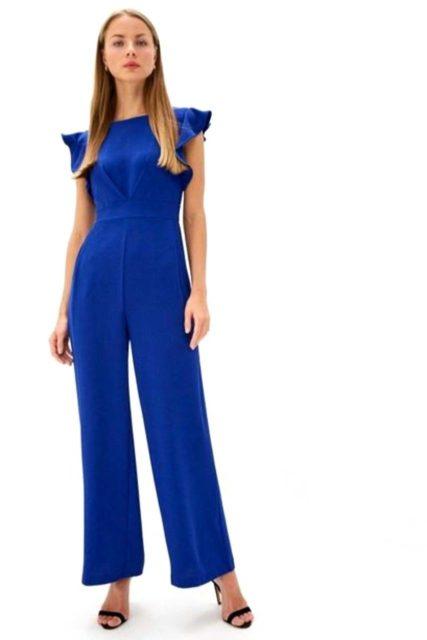 rinascimento jumpsuit blue